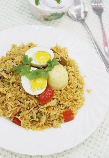 Egg biryani recipe | How to make easy egg biryani recipe