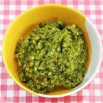 green chilli chutney recipe – how to make green chilli chutney