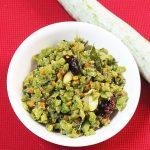 snake gourd curry / pudalangai poriyal / potlakaya fry recipe (without coconut)
