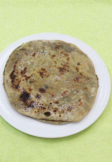 sweet potato puran poli recipe