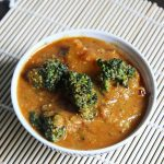 broccoli gravy curry recipe for chapathi, roti | Indian broccoli recipes
