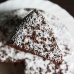 Chocolate coconut cake recipe using desiccated coconut (butter free)