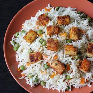 Paneer pulao recipe |  How to make paneer pulao recipe