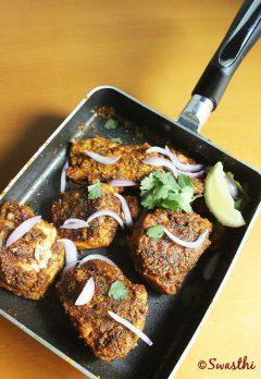 amritsari fish |  tawa fish fry recipe |  fish fry recipe