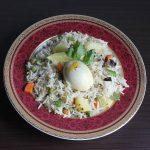 Egg pulao recipe | How to make easy egg pulao in pressure cooker