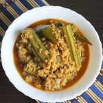 Soya keema drumstick curry