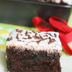 Chocolate Poke Cake with Coconut Cream