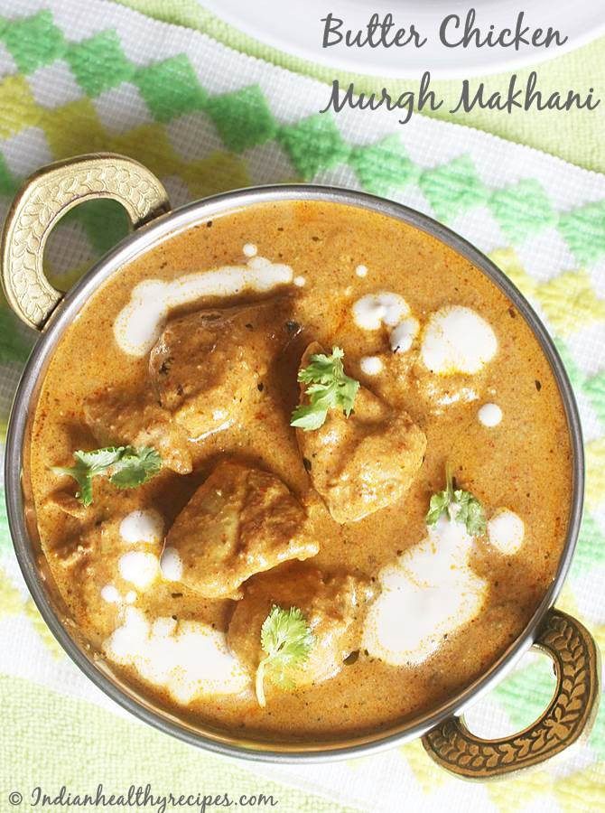 step by step easy way of making butter chicken recipe