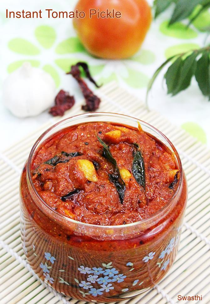andhra tomato pickle recipe
