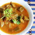 Bendakaya pulusu | okra in tamarind gravy recipe