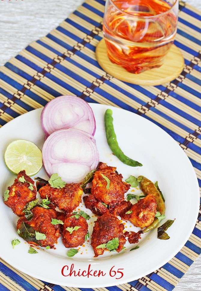 Chicken 65 recipe how to make chicken 65 restaurant style recipe forumfinder Images