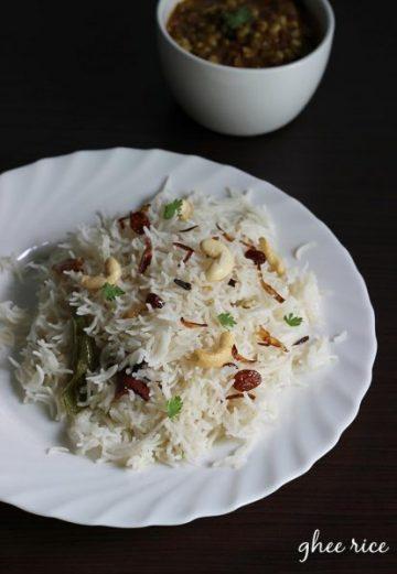 Ghee rice recipe video | How to make ghee rice recipe with kurma