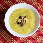 Semiya Kesari Recipe using almond milk