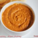 ginger chutney – how to make ginger chutney (for pesarattu, idli, dosa)
