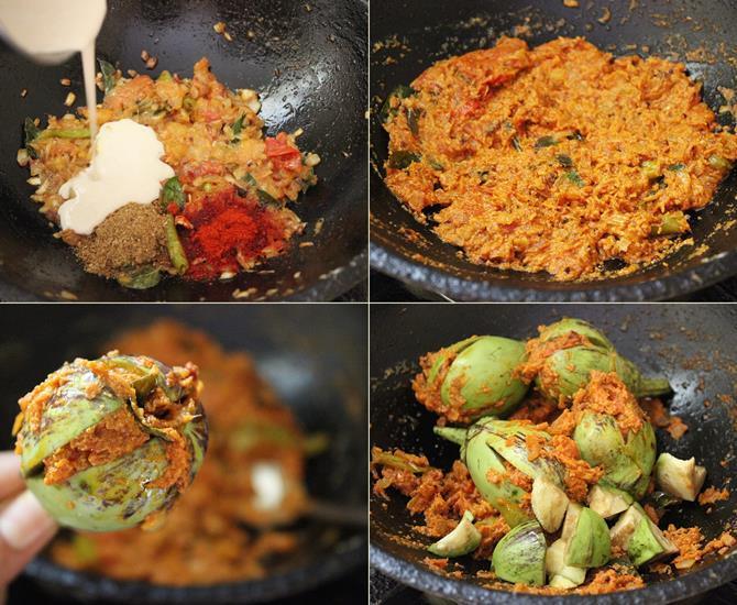 how to make vankaya gasagasala kura
