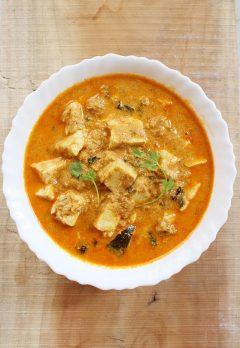 paneer korma recipe, how to make paneer korma (kurma recipe)