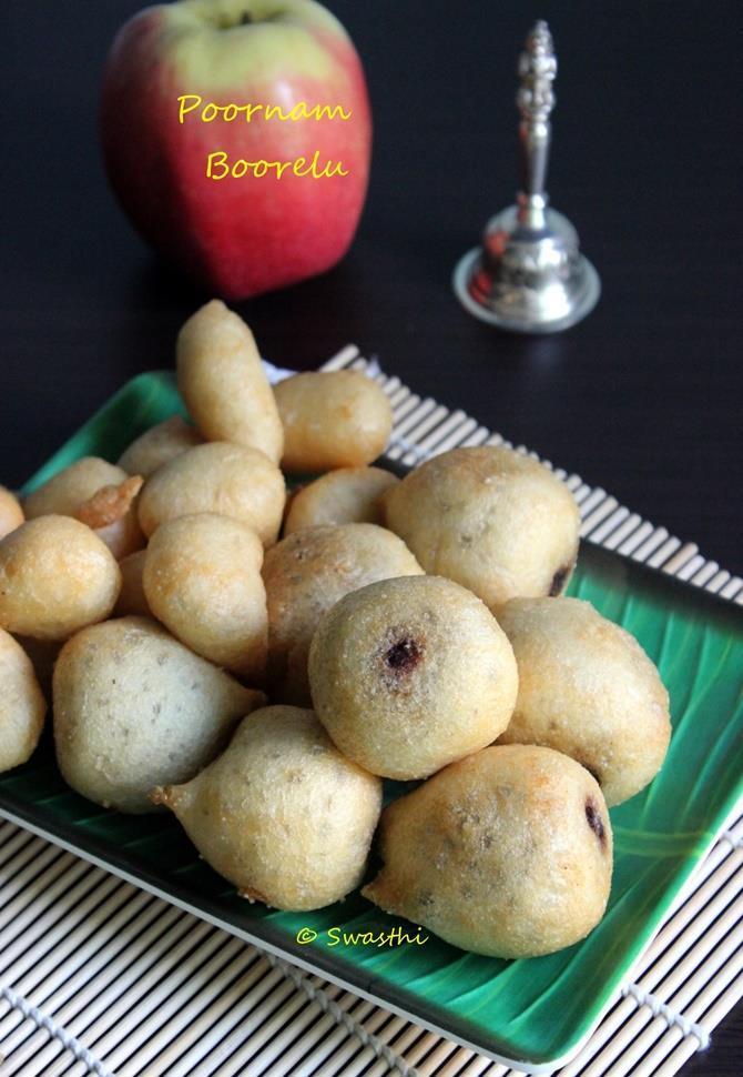 poornam boorelu recipe swasthis recipes