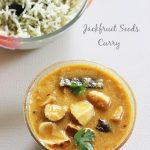 jackfruit seeds kurma curry recipe , how to make jackfruit seeds kurma curry