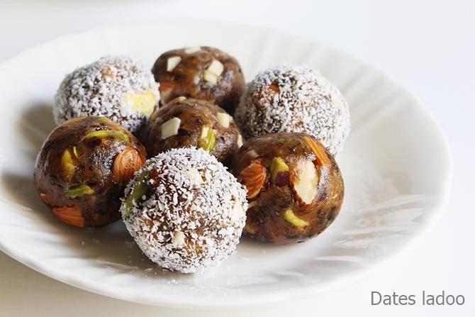 dates nuts ladoo recipes