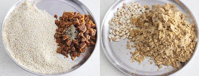 how to make tasty sesame seed ladoo