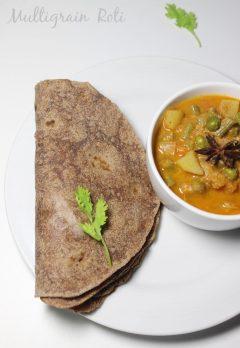 Diabetic recipes simple indian recipes for diabetics low gi multigrain roti recipe how to make soft multigrain roti or chapathi forumfinder Choice Image