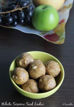Sesame seeds ladoo recipe | Til ladoo | Til ke ladoo with jaggery