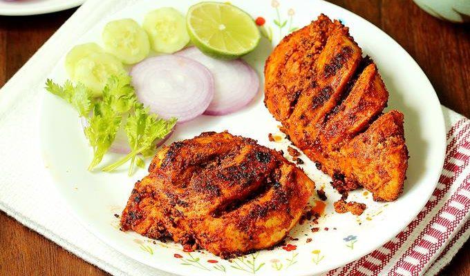 Tandoori chicken   Restaurant style tandoori chicken recipe