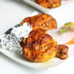 tandoori chicken recipe | restaurant style grilled chicken in oven & stove top