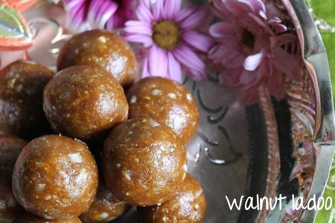 walnut laddu recipes