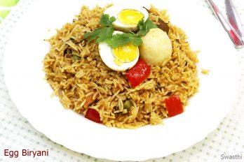 Egg biryani recipe | How to make easy egg biryani