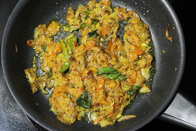 Gutti vankaya kura or curry | Stuffed brinjal curry for ...  Gutti vankaya k...