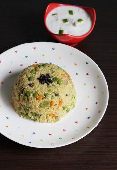 Millet biryani or pulao recipe | Thinai biryani recipe | Korralu pulao