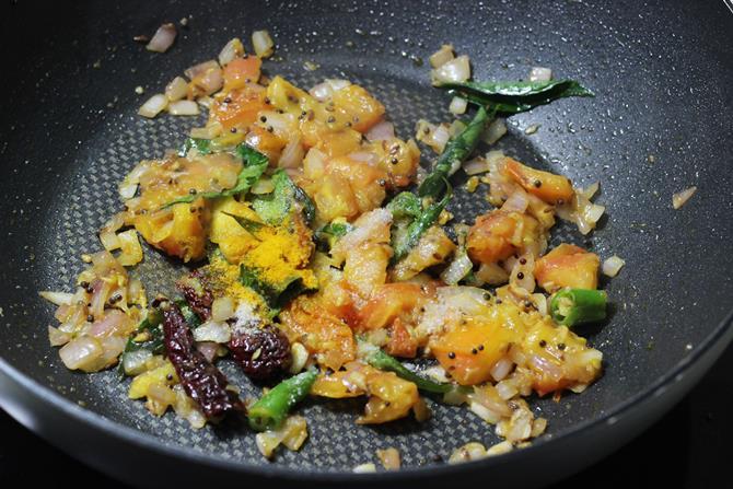turmeric salt in moong dal recipe
