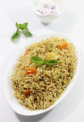 Veg biryani recipe | How to make veg biryani recipe in restaurant style