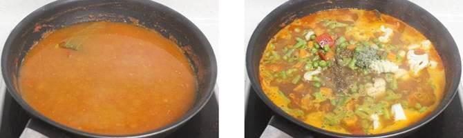 veg makhanwala recipe step 3