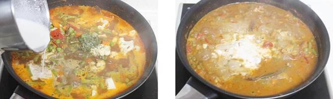 veg makhanwala recipe step 4