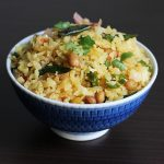 aval upma or poha upma, how to make aval upma in 15 minutes