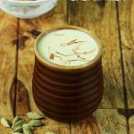 badam milk recipe, how to make badam milk or almond milk
