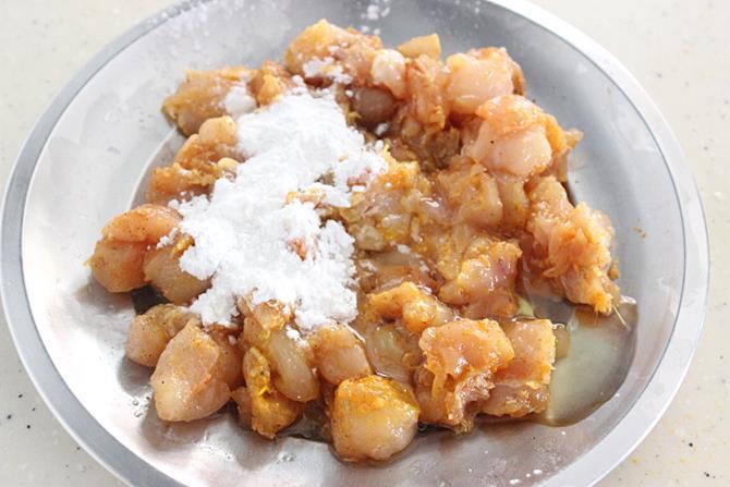 egg corn flour