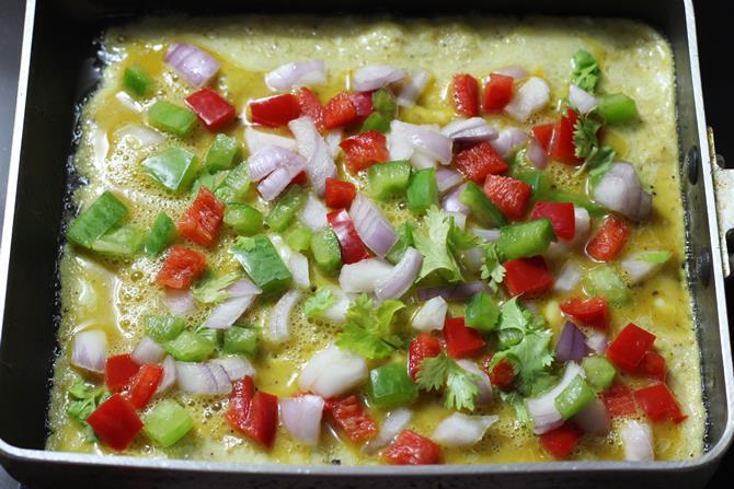 how to make egg omelet