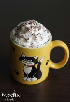 mocha recipe, how to make a mocha