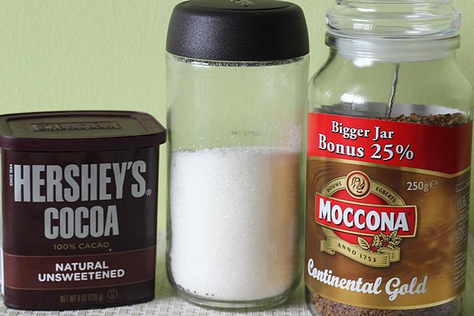 mocha recipe step 1
