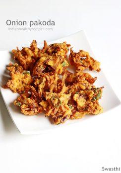 Onion pakoda recipe | How to make onion pakoda | Pakoda recipe