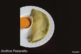 Pesarattu recipe moong dal dosa recipe how to make pesarattu dosa forumfinder Image collections
