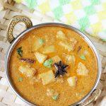 Potato Kurma (Aloo Kurma) Recipe | Side dish for Biryani, Chapathi