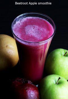 Beetroot apple smoothie – the best beetroot smoothie