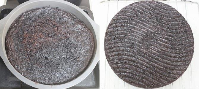 bake the prepared batter at 170 C to make hersheys chocolate cake recipe