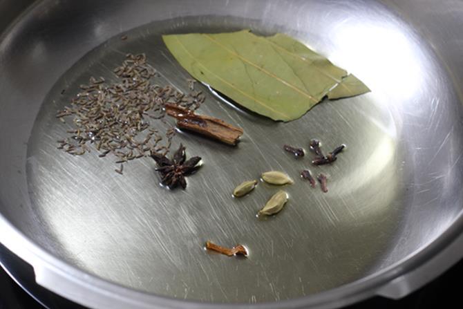 mint rice pudina rice step 3
