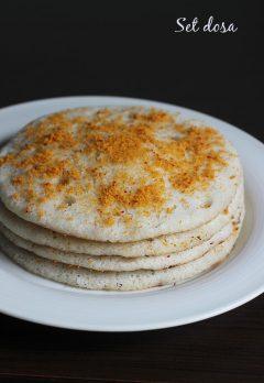 Set dosa recipe   How to make set dosa   Sponge dosa recipe