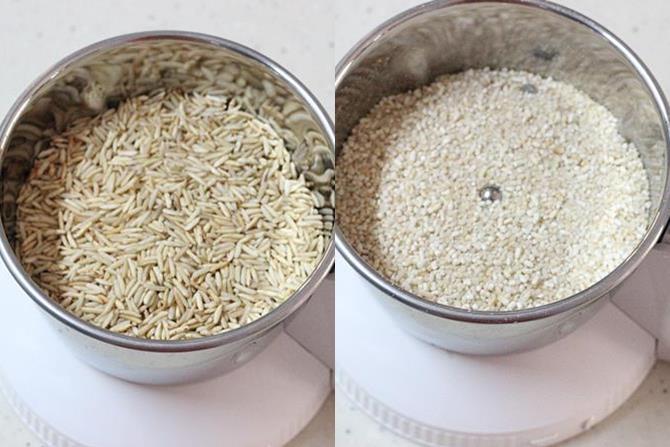 making rava